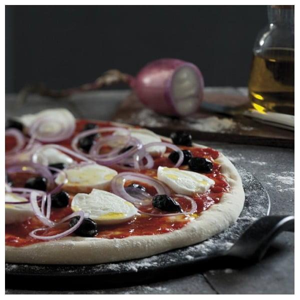Tác na pizzu Emile Henry 30 cm, černý