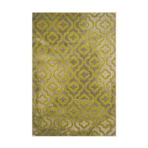 Zelený koberec Webtappeti Evergreen,92x152cm