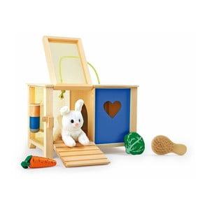 Dřevěná králíkárna na hraní Legler Rabbit