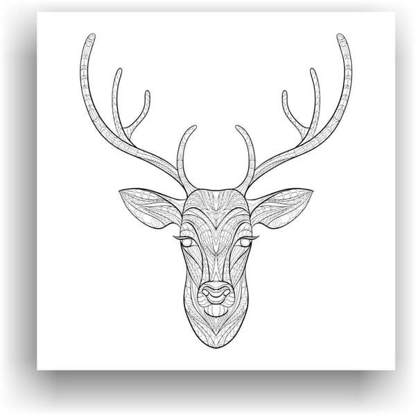 Obraz k vymalování Color It no. 55, 50x50 cm