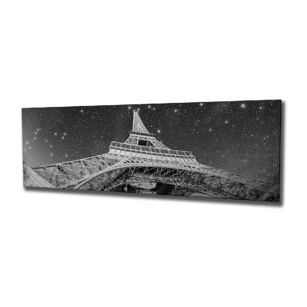 Paris vászon fali kép, 80 x 30 cm