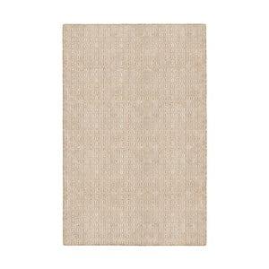 Béžový oboustranný koberec vhodný i do exteriéru Green Decore Viva, 90 x 150 cm