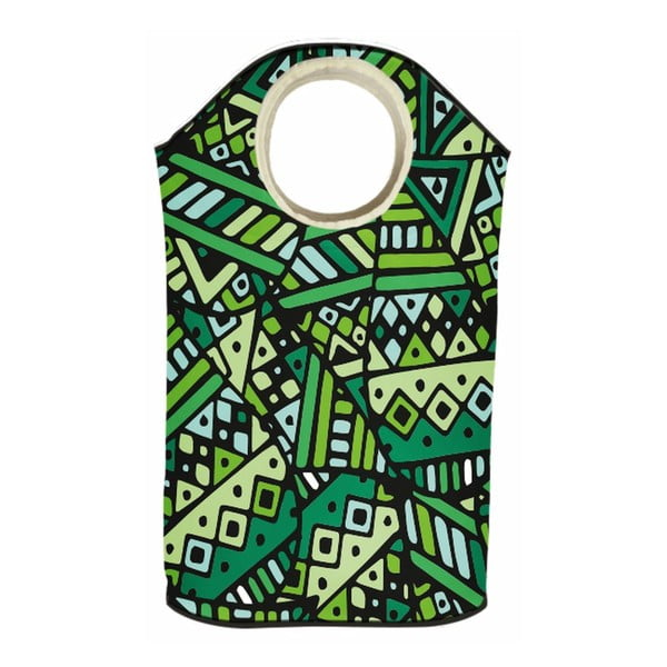 Koš na prádlo Green Aztec