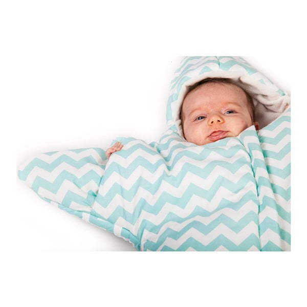 Dětský spací vak Mint Star, vhodný i na léto, pro děti od 4 do 7 měsíců