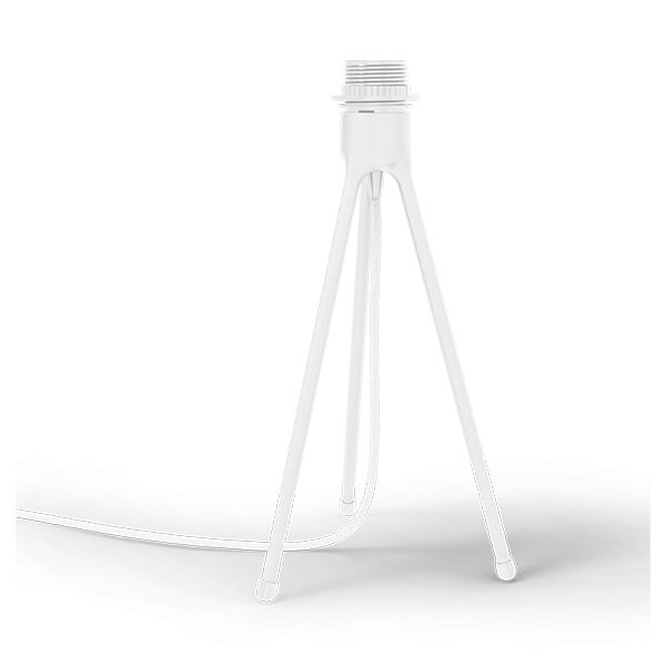 Bílý stolní stojan tripod na světla VITA Copenhagen, výška36cm