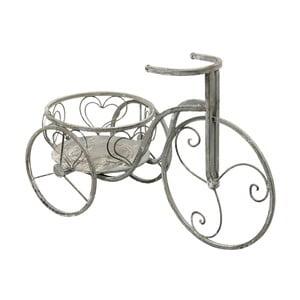 Stojan na květináče ve tvaru bicyklu Clayre & Eef, 54 x 25 cm