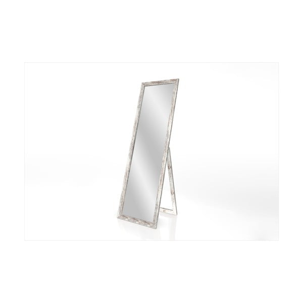 Stojací zrcadlo s rámem s patinou Styler Sicilia