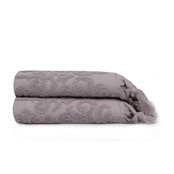 Zestaw 2 ręczników Madame Coco Maria, 50x90 cm
