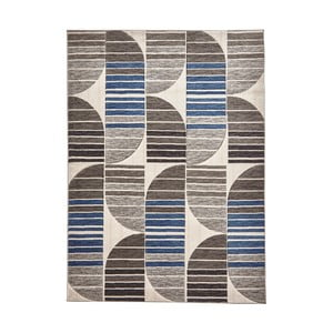 Šedomodrý koberec Think Rugs Pembroke, 80x150cm
