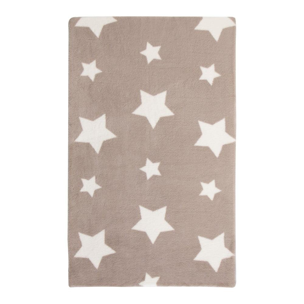 Krémový koberec Flair Rugs Twinkle, 90 x 150 cm