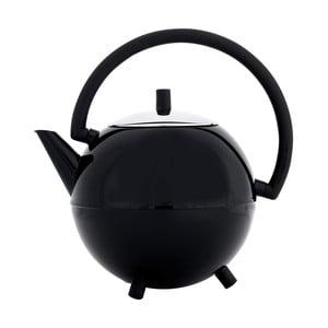 Černá konvice na čaj Bredemeijer Saturn, 1,2l