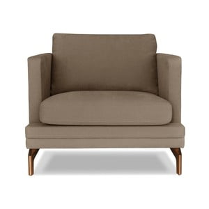 Hnědé křeslo Windsor&Co. Sofas Jupiter