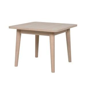 Odkládací stolek z dubového dřeva Canett Optima