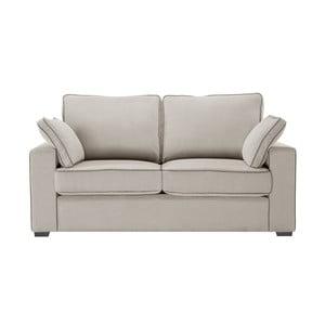 Canapea cu 2 locuri Jalouse Maison Serena, taupe