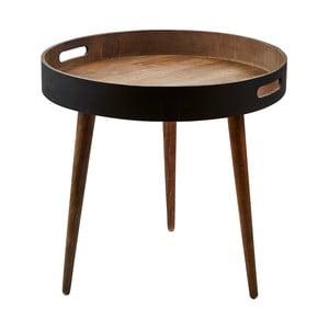 Dřevěný sevírovací stolek Villa Collection