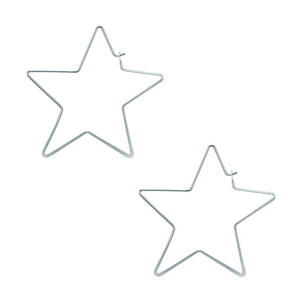Cercei Runaway Stars, argintiu