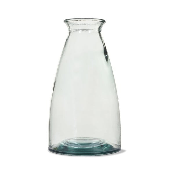 Váza z recyklovaného skla Garden Trading Wells Large, výška30 cm