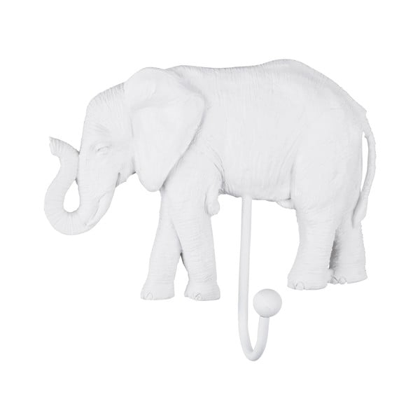 Cârlig PT LIVING Elephant, alb