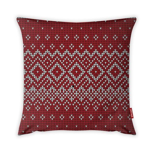 Christmas Period Red Pattern párnahuzat, 43 x 43 cm - Vitaus