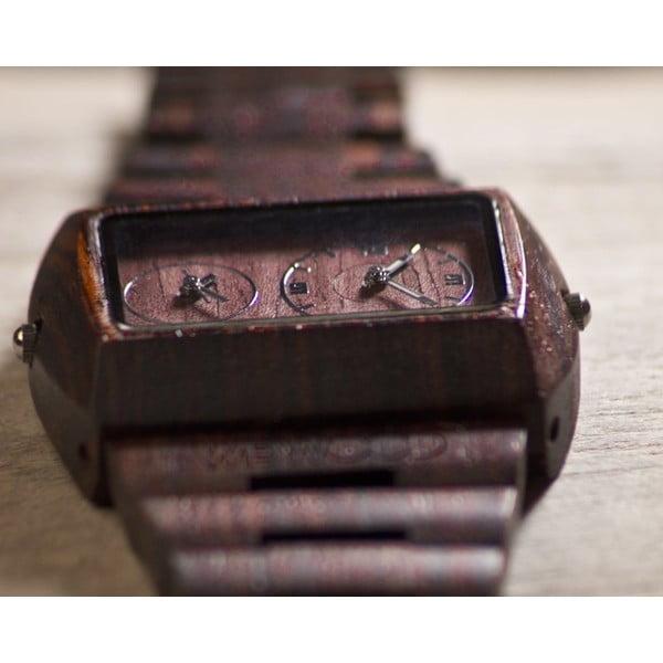 Dřevěné hodinky Jupiter Brown