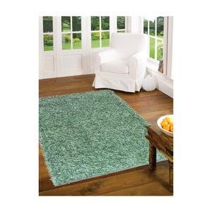 Zelený koberec Webtappeti Shaggy, 60x100cm