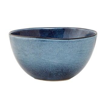 Bol din ceramică Bloomingville Sandrine, albastru de la Bloomingville