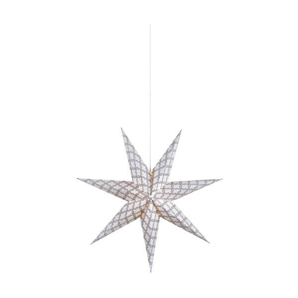 Grafik fehér függő dekorációs világítás, ø 75 cm - Markslöjd