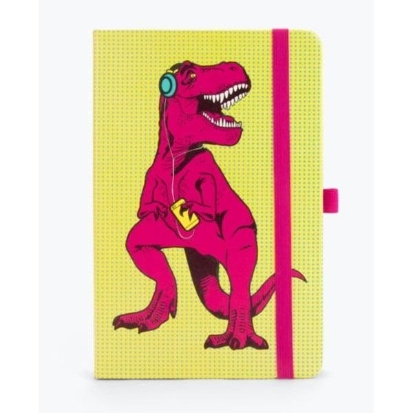 T-Rex sárga jegyzetfüzet, 190 oldal - Just Mustard