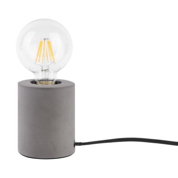 Stolní lampa s šedým mramorovým podstavcem Leitmotiv Bar