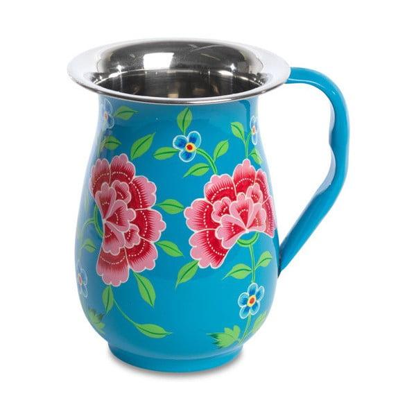 Džbán Franjipani Floral Jug, modrý