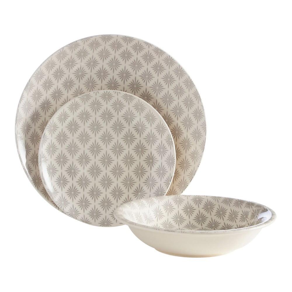 12dílná sada talířů Premier Housewares Miya