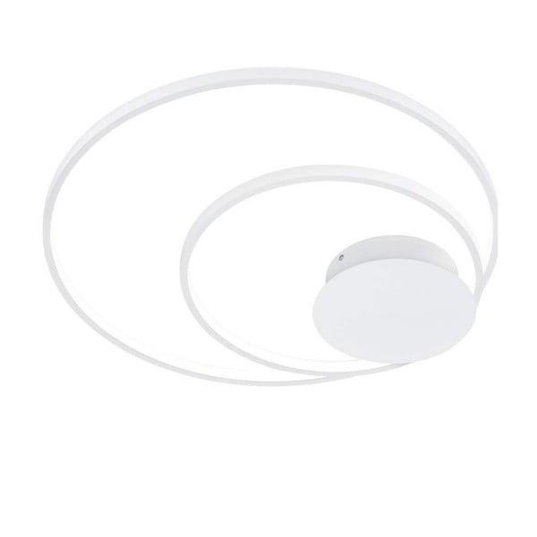 Bílé stropní kulaté LED svítidlo Trio Sedona