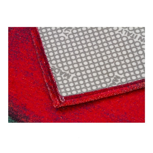 Vysoce odolný kuchyňský koberec Webtappeti Peperoncini, 60x300 cm