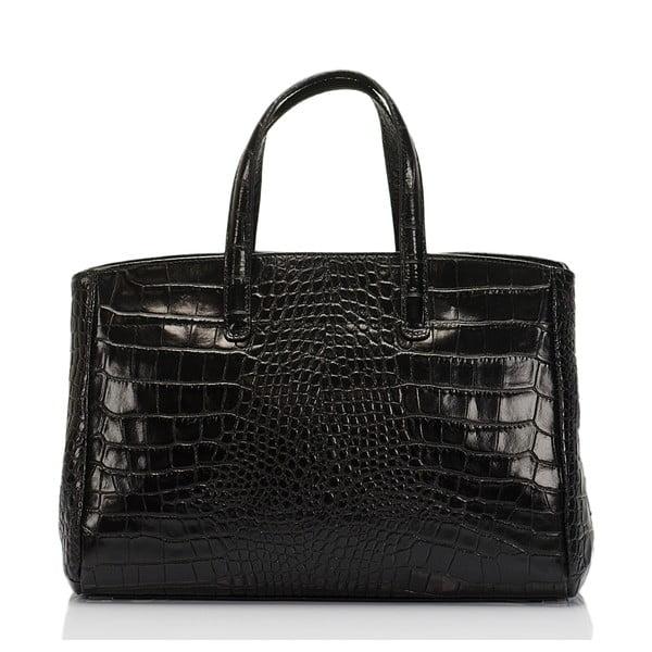 Czarna torebka skórzana Lisa Minardi Magnata