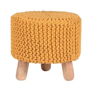 Tmavě žlutá stolička LABEL51 Kota