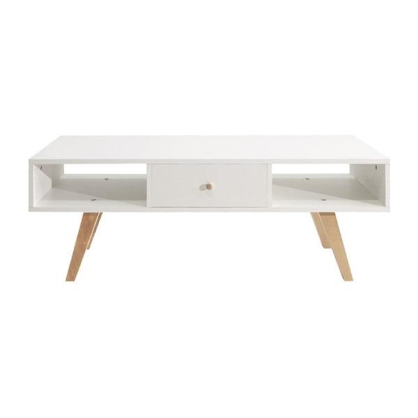Bílý televizní stolek Symbiosis Ula