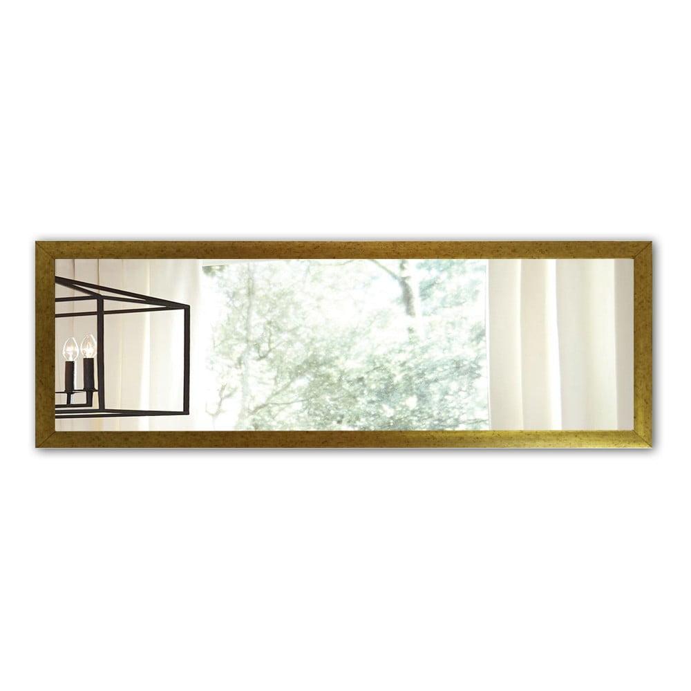 Nástěnné zrcadlo s rámem ve zlaté barvě Oyo Concept, 105 x 40 cm