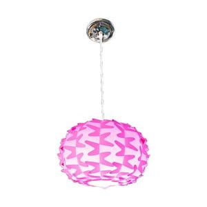 Růžové stropní světlo Mauro Ferretti Chip
