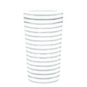 Sklenice Swirl 360 ml, bílá