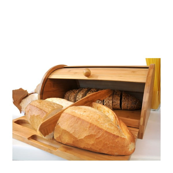 Bambusový chlebovník Panino s nožem