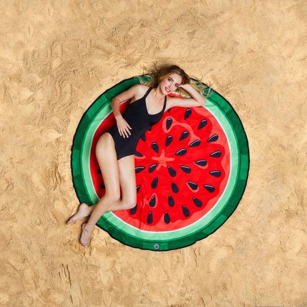 Plážová deka ve tvaru melounu Big Mouth Inc., Ø152cm