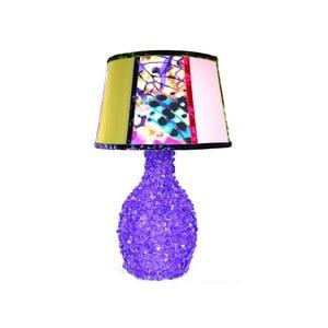 Stolní lampa Crystal Green Violet