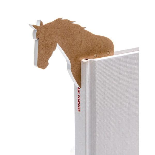 Semn de carte în formă de cal Thinking gifts Woodland