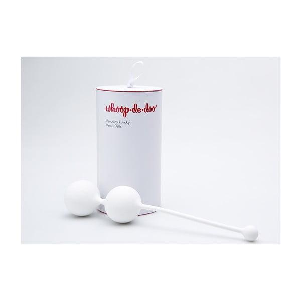 Bílé designové venušiny kuličky Whoop.de.doo Light, 41 g