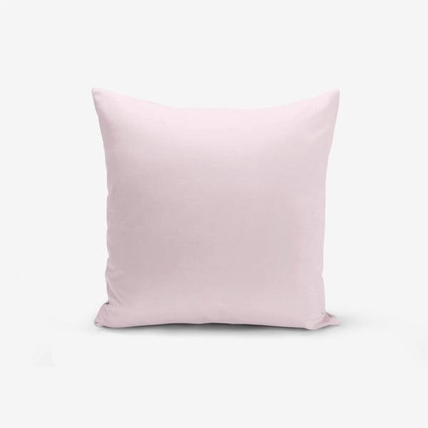Púderrózsaszín párnahuzat, 45 x 45 cm - Minimalist Cushion Covers