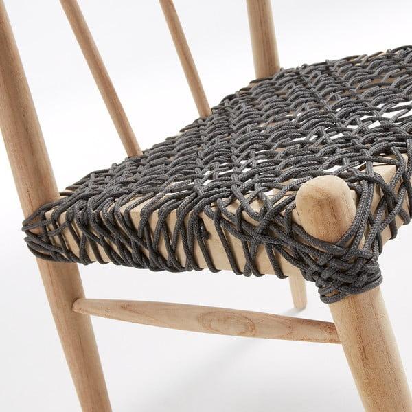 Scaun din lemn de tec La Forma Dream
