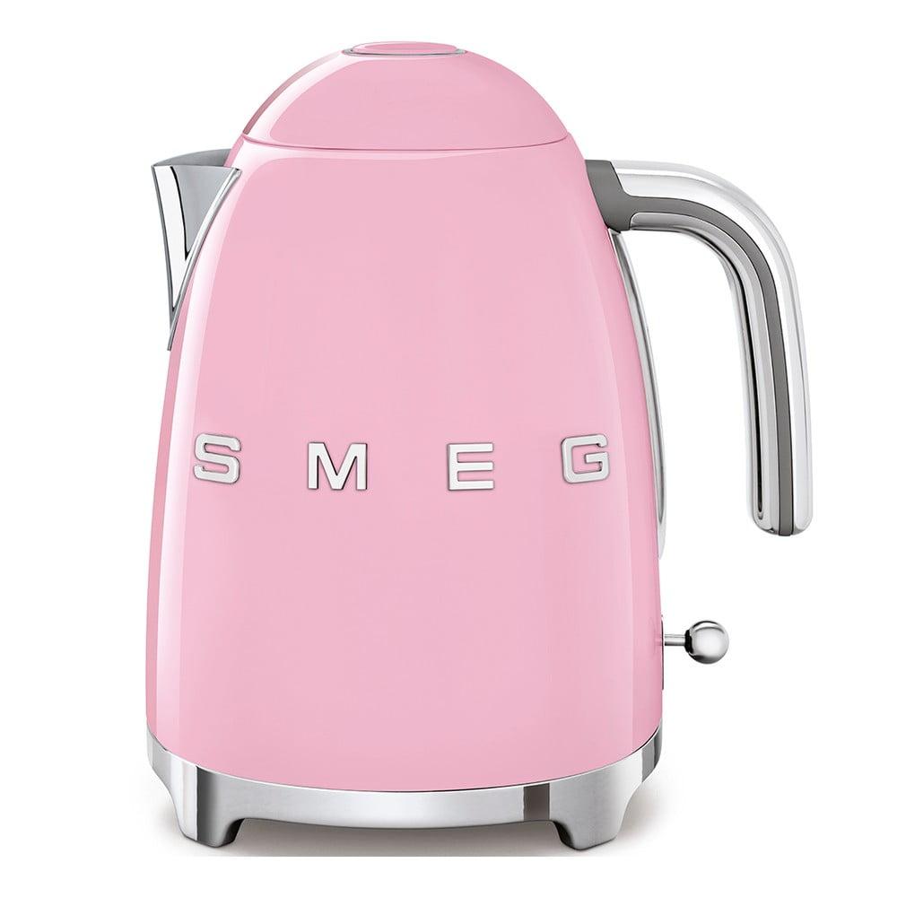 Růžová rychlovarná konvice SMEG