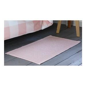 Růžová koupelnová předložka Walra Kim, 60x100cm