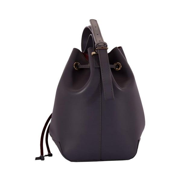 Kožená kabelka Andrea Cardone 3027 Grey