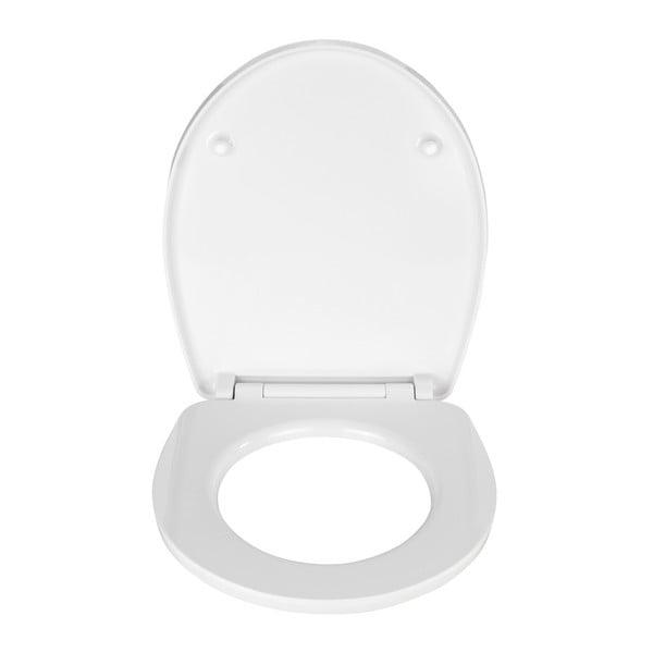 WC sedátko se snadným zavíráním Wenko Dune, 45 x 38,8 cm